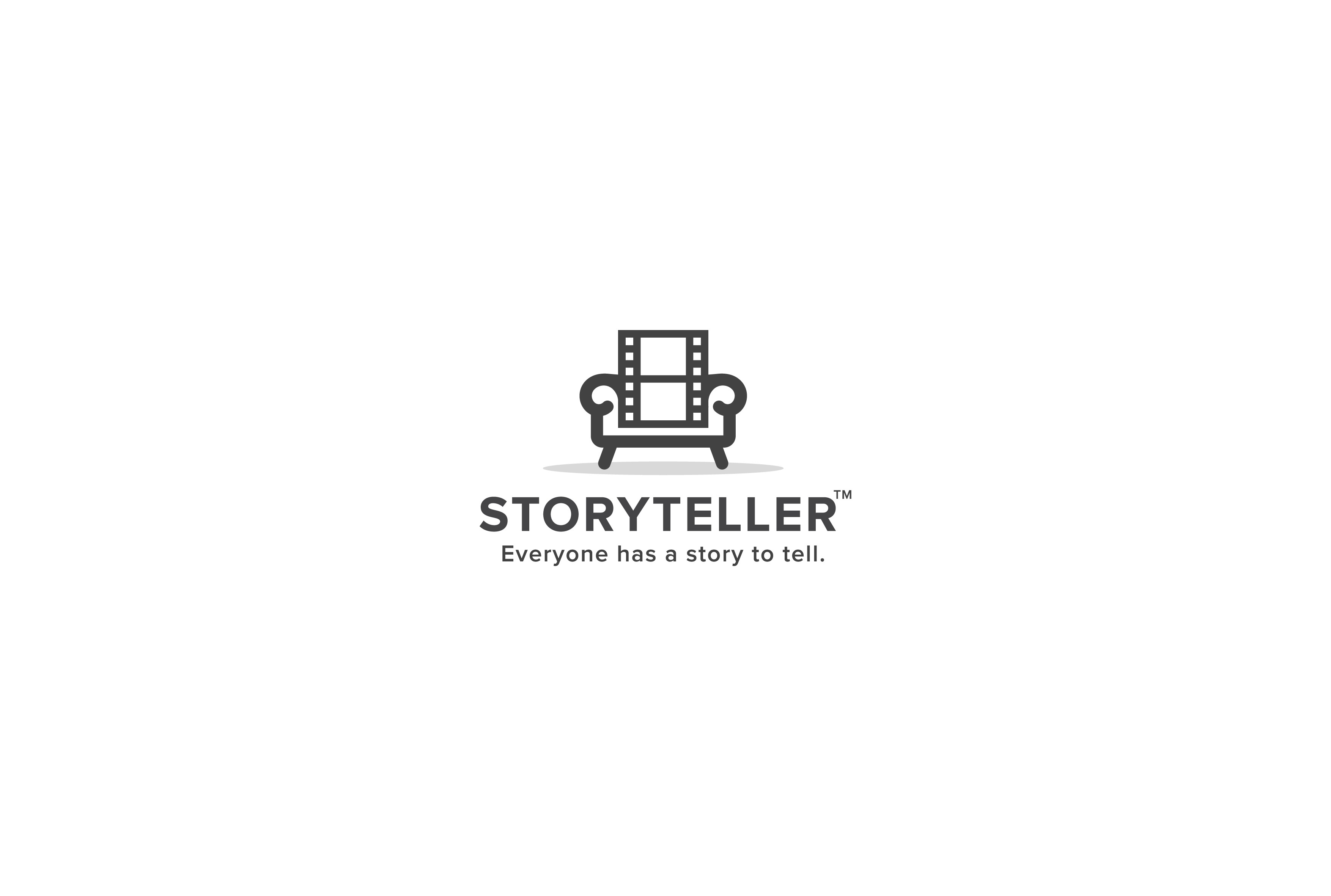 "A logo that simply communicates ""we do visual storytelling."""