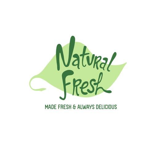 Natural Fresh Logo Design