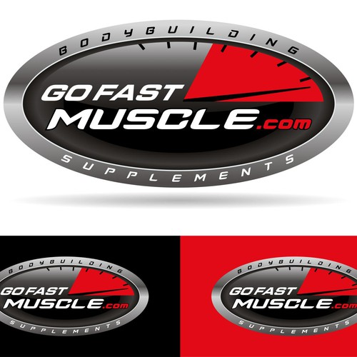 logo for Go Fast Muscle