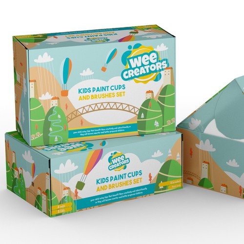 Box Design for a Simple Toddler Toy