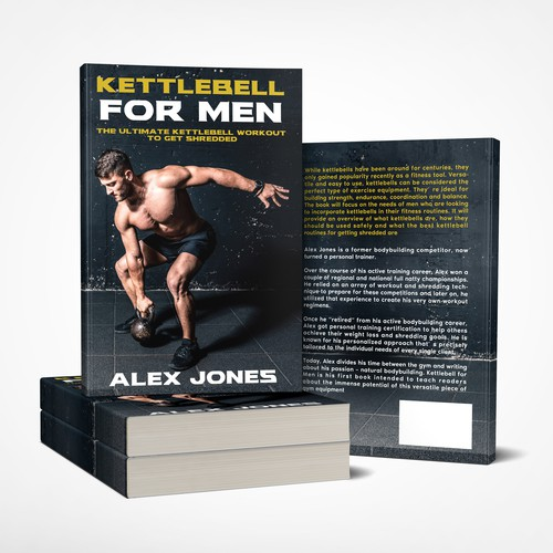 Bookcover for Alex Jones, Kettlebel For Men