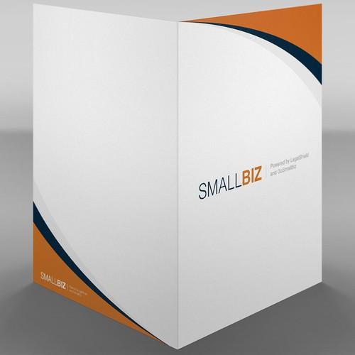 Sales Style: Clean, simple, professional pocket folder