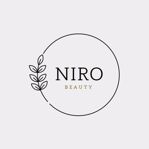 Niro beauty logotype