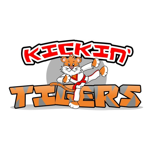 Kickin' Tigers needs a cartoon logo