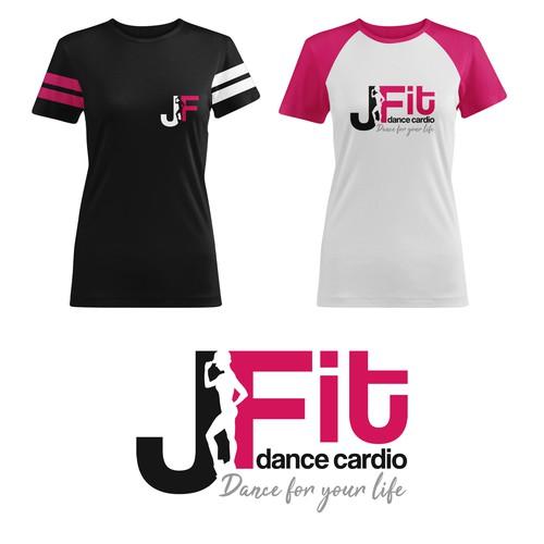 Logo Concept - J Fit Dance Cardio