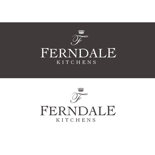 Ferndale Kitchens need a Luxury, dynamic and elegant new logo..... HELP!!!
