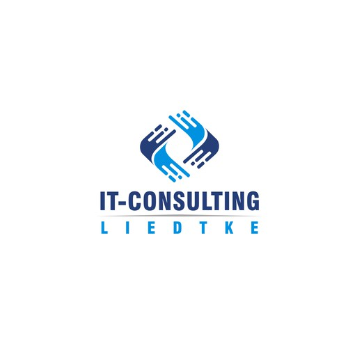 IT-Consulting Liedtke logo design