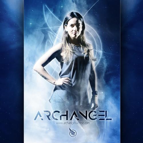 Super Hero Movie Poster Concept for ArchAngel Summit