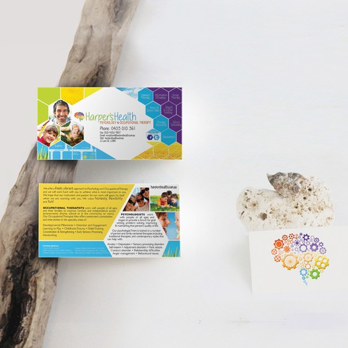 Logo and Flyer design for Occupational and Speech pathology