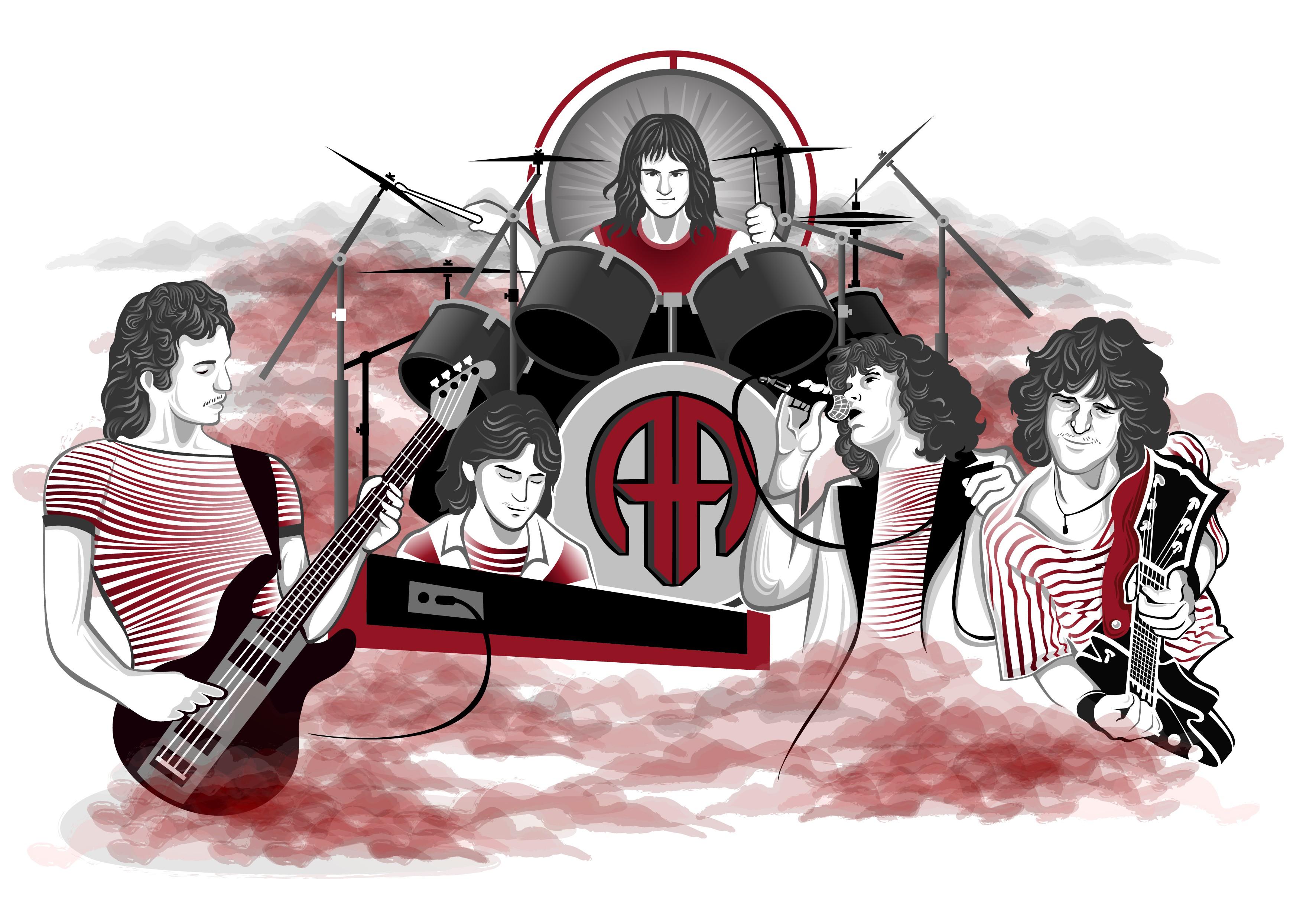 Archer Band Illustration