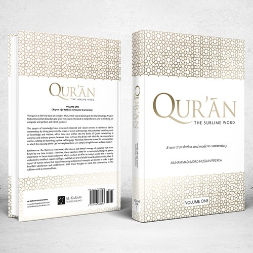 Book cover for Quran - The Sublime Word