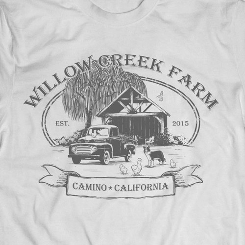Willow Creek Farm T Shirt