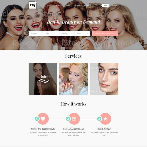 Beauty Booking Platform