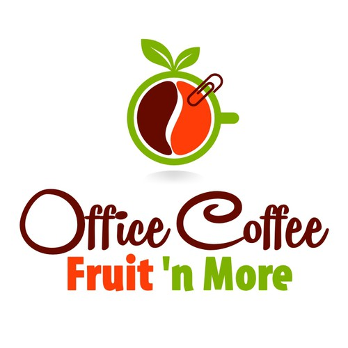 logo for Office Coffee, Fruit 'n More