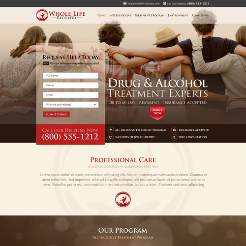 Drug and Alcohol Recovery Center (Website) - Guaranteed Winner