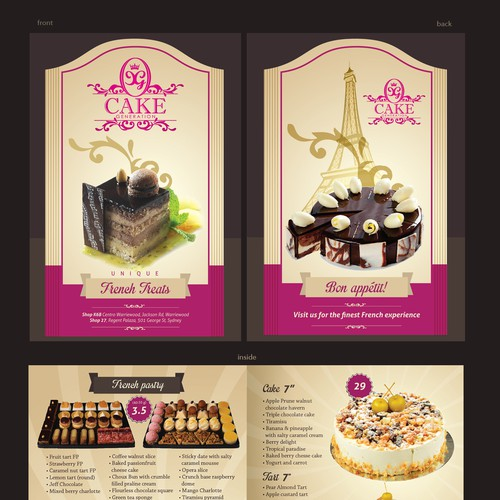New postcard or flyer wanted for Cake Generation