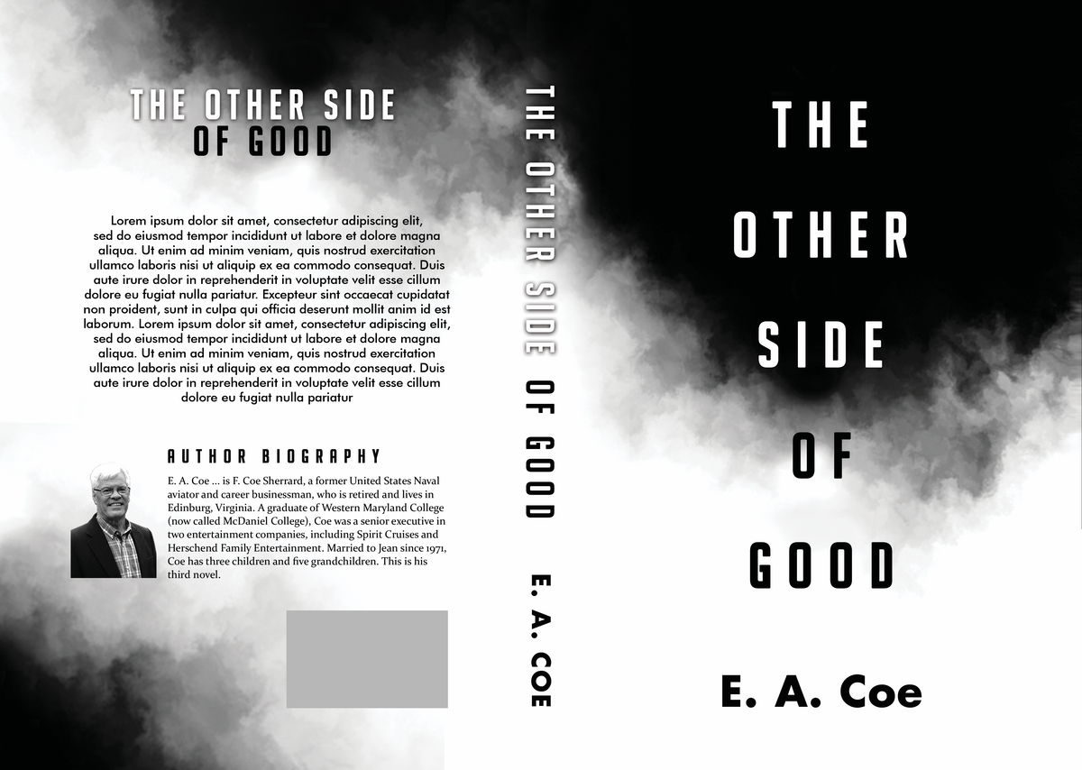 Powerful book cover supporting/enhancing the dichotomy of the title
