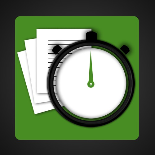 New Icon for Time Tracking App