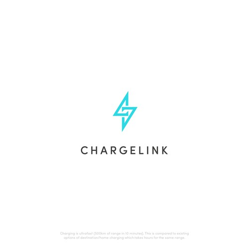 Bold Logo for electric vehicle fuel stations company