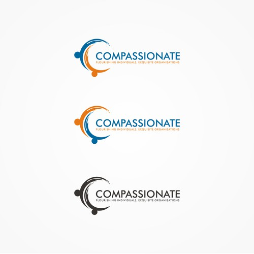 Design a logo that expresses compassion exquisitely