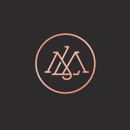 Sophisticated  monogram logo