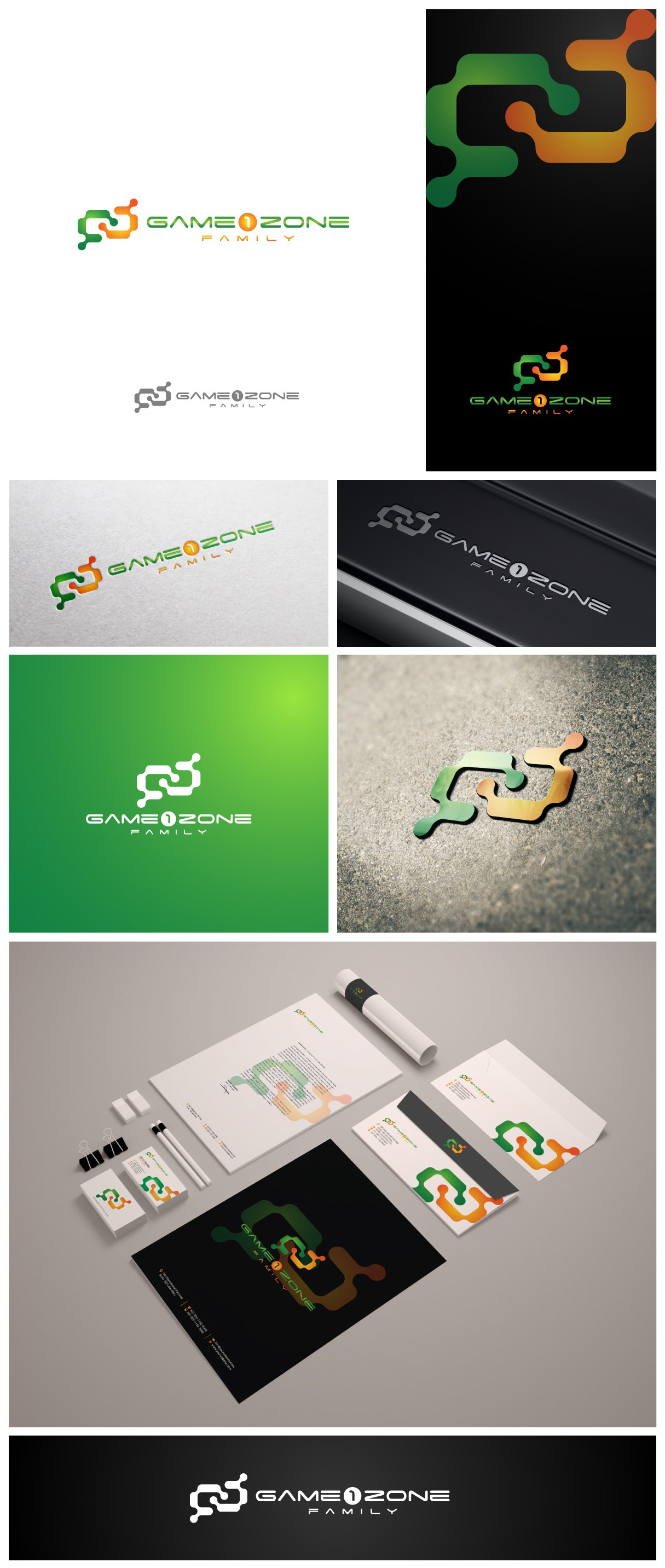 Create full branding for dynamic and young startup - Game 1 Zone
