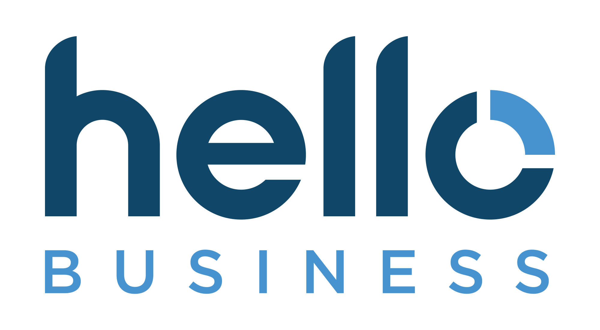Logo Hello Business (présentation powerpoint 10 slides à suivre)