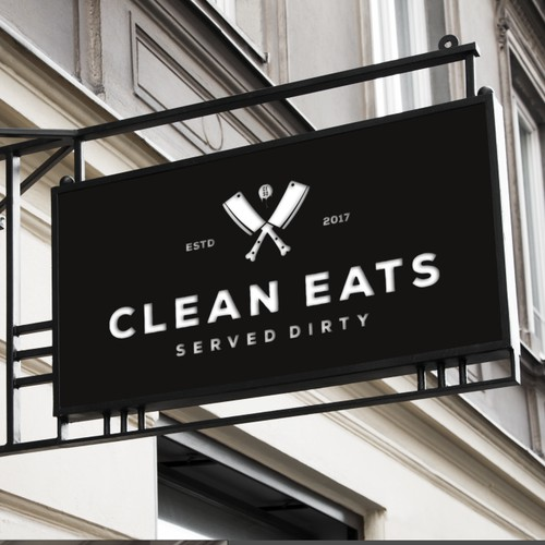 """Hipsterfoodie brand """"Clean Eats Served Dirty"""""""