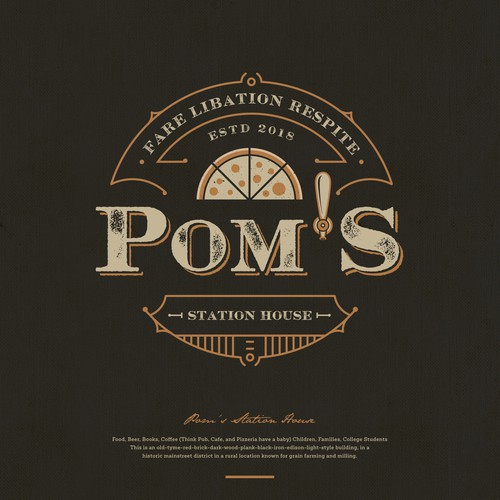 Pom's Station House