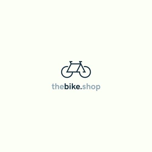 Logo concept for a bike shop