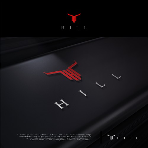 HILL logo concept