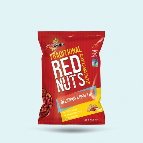Packaging for Red Nuts