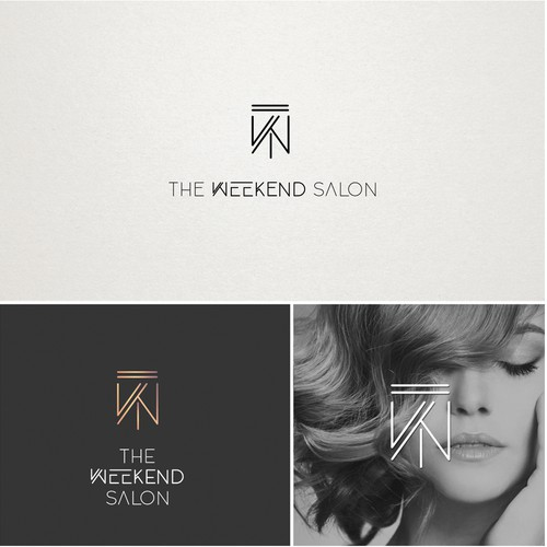 Beauty Salon Logo Design Concept