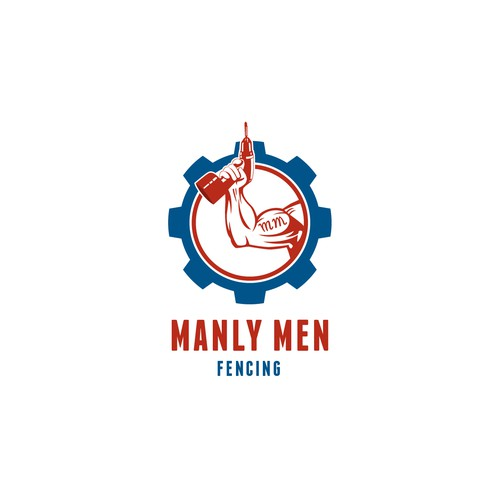 Create a Funny / Profesional Logo - Manly Men Fencing
