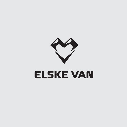 Minimalist design for Van company