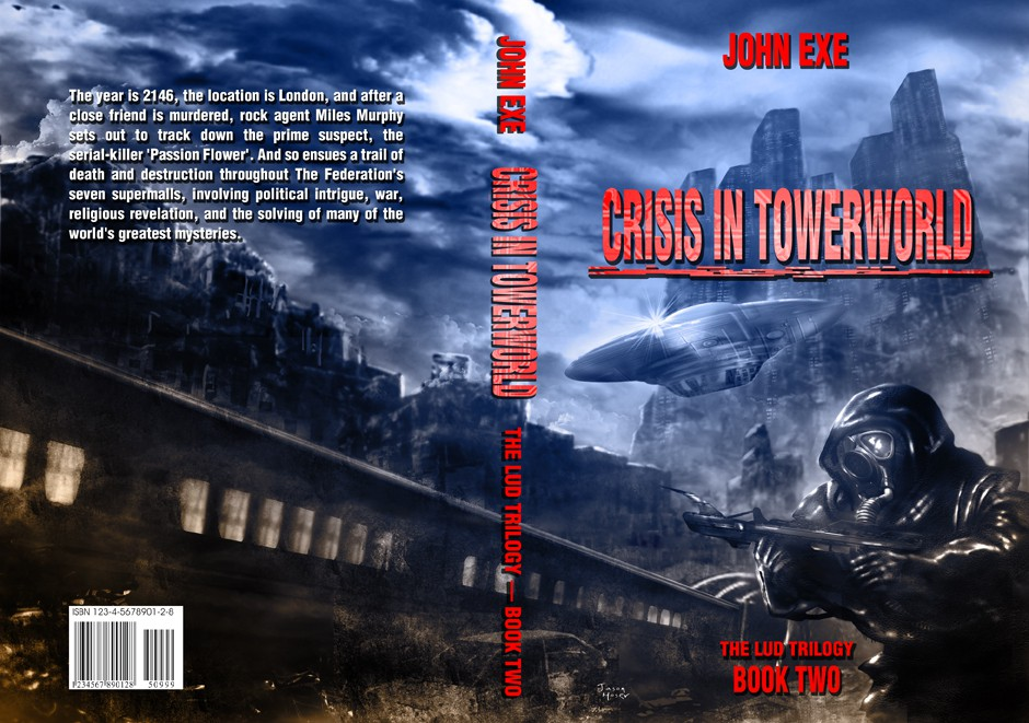 Create the next book or magazine cover for John Exe