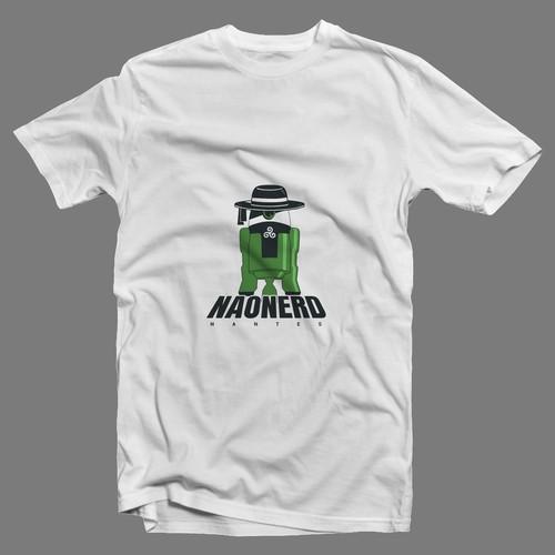 Design for a Breton t-shirt