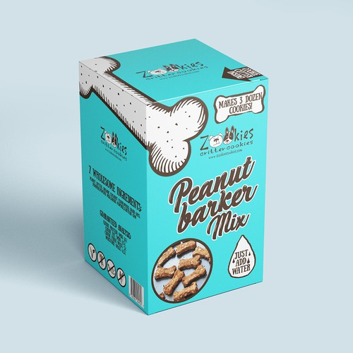 Playful packaging concept for dog food