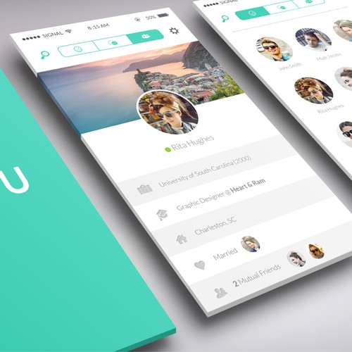 A simple but decent design for a dating messenger is required. Additionally you get 10% of shares.