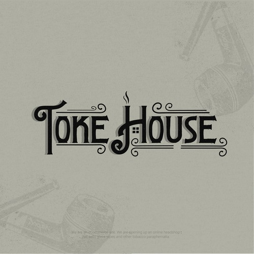 Logo design for TokeHouse ecommerce website.