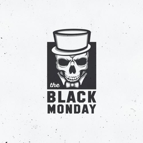 Logo for an web-shop for black stuff