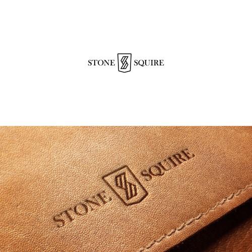 Logo for a premium men's fashion accessory brand