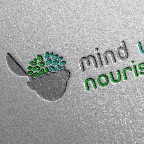 Create an eye popping logo for Mind Well Nourished