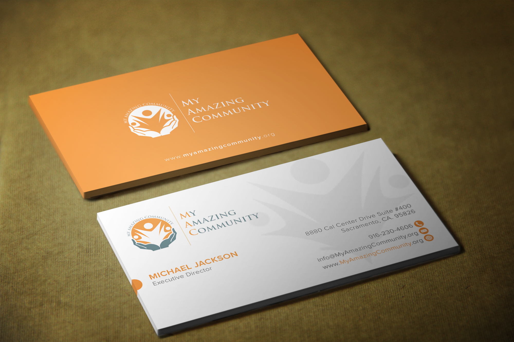 My Amazing Community Non Profit Business Card