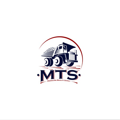 Logo concept for MTS (Mining Trade Service)