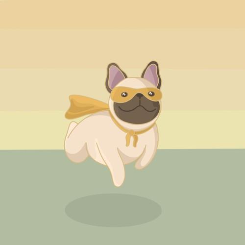 Mascot for dog food company.