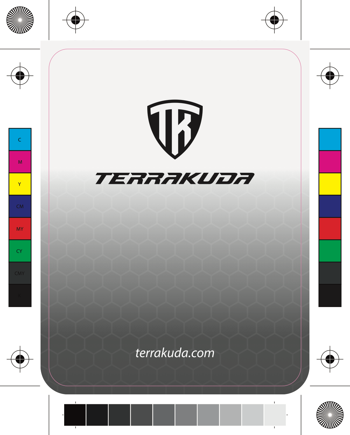 Terrakuda & Armorbilt - tags (front and back)