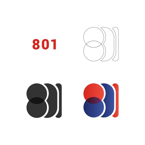 801 INJURED Logo Concept