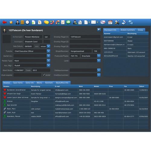 CRM Application design