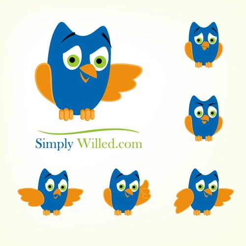 SimplyWilled.com Owl